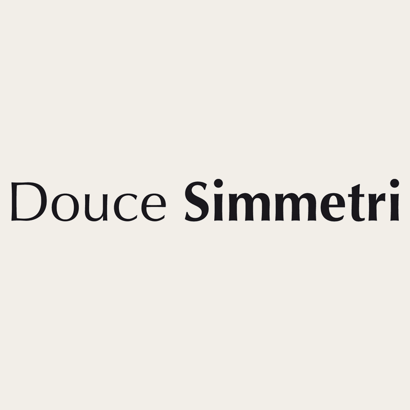 Linea Douce Simmetri: scritta | Kléral System