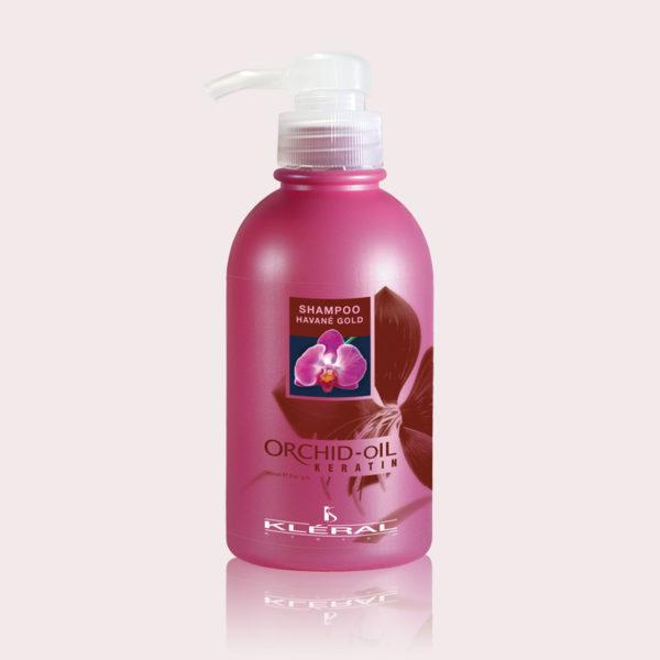 Linea Orchid Oil shampoo havané gold 1L   Kléral System