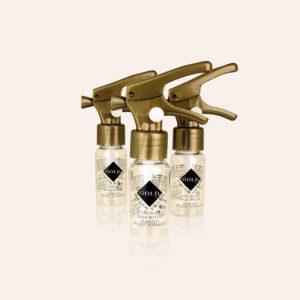 Linea Semi di lino: gold filler trio | Kléral System