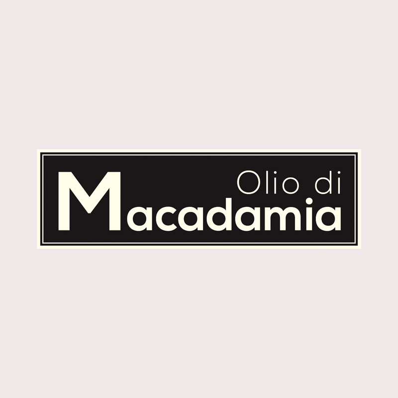 Linea Olio di Macadamia: scritta | Kléral System