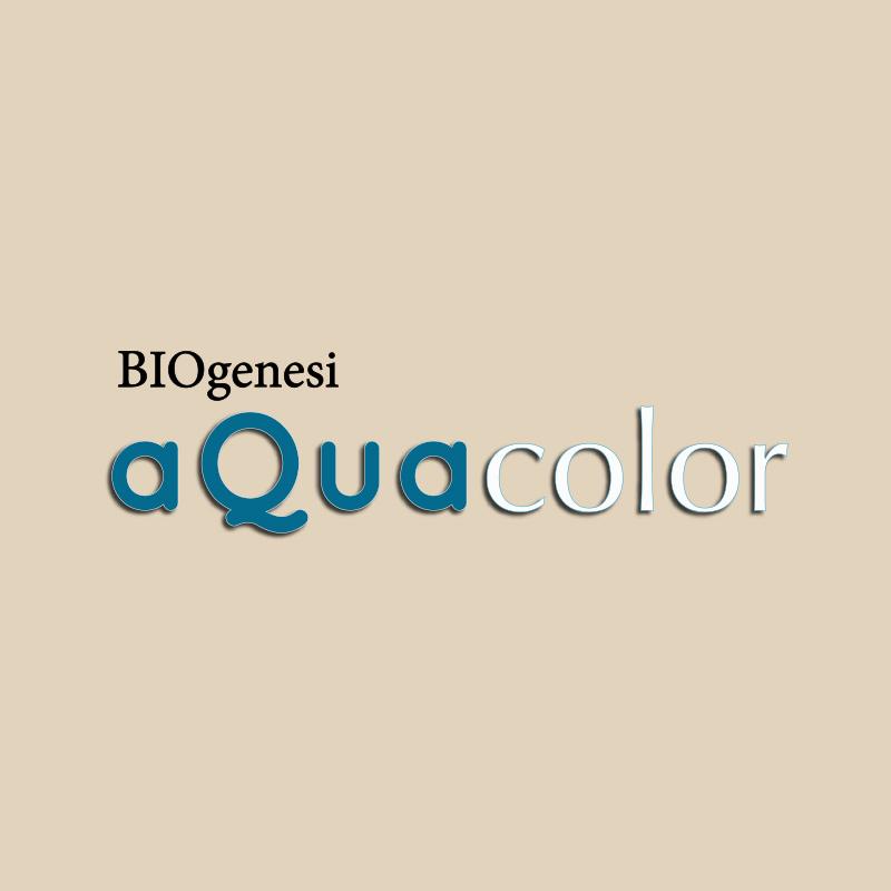 Linea Biogenesi aquacolor: scritta | Kléral System