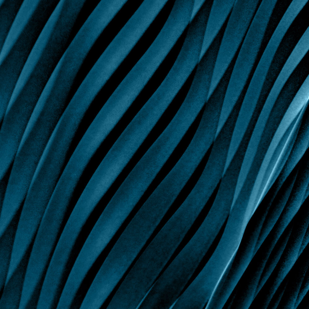 Pattern blu petrolio | Kléral System