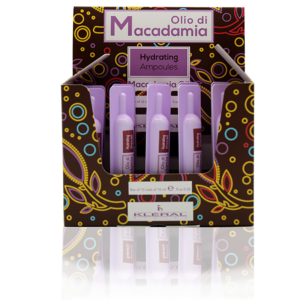 Linea Olio di Macadamia: hydrating ampoules Kléral System